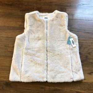 NWT faux fur vest